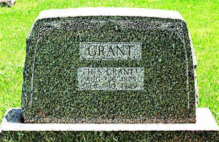 GRANT, H.S. - Boone County, Arkansas | H.S. GRANT - Arkansas Gravestone Photos