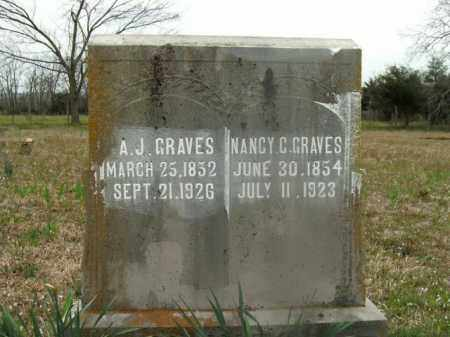 GRAVES, A.J. - Boone County, Arkansas | A.J. GRAVES - Arkansas Gravestone Photos