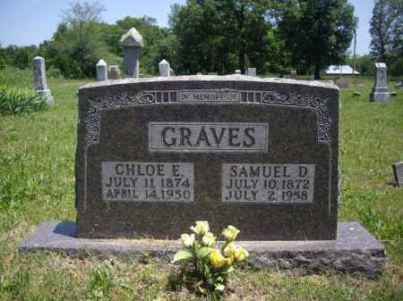 GRAVES, CHLOE E. - Boone County, Arkansas | CHLOE E. GRAVES - Arkansas Gravestone Photos