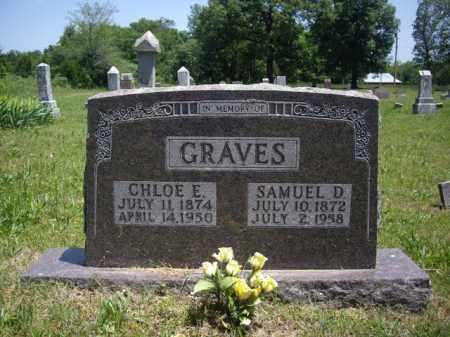 GRAVES, CHLOE E. - Boone County, Arkansas | CHLOE E. GRAVES - Arkansas Gravestone Photos