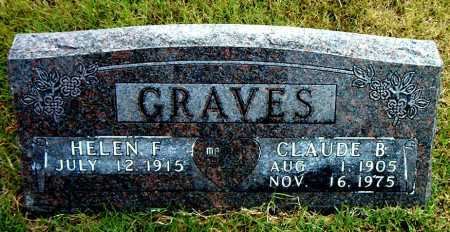 GRAVES, CLAUDE   B. - Boone County, Arkansas | CLAUDE   B. GRAVES - Arkansas Gravestone Photos
