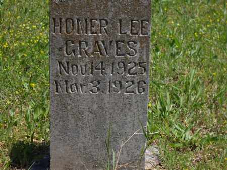 GRAVES, HOMER LEE - Boone County, Arkansas | HOMER LEE GRAVES - Arkansas Gravestone Photos
