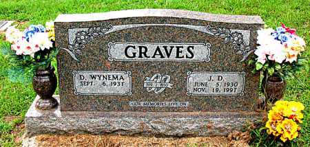 GRAVES, J.D. - Boone County, Arkansas | J.D. GRAVES - Arkansas Gravestone Photos