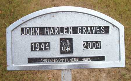 GRAVES, JOHN HARLEN - Boone County, Arkansas | JOHN HARLEN GRAVES - Arkansas Gravestone Photos