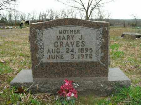 GRAVES, MARY J. - Boone County, Arkansas | MARY J. GRAVES - Arkansas Gravestone Photos