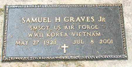 GRAVES, JR  (VETERAN 3 WARS), SAMUEL H - Boone County, Arkansas | SAMUEL H GRAVES, JR  (VETERAN 3 WARS) - Arkansas Gravestone Photos