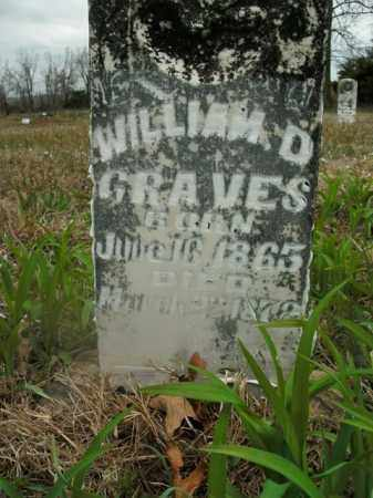 GRAVES, WILLIAM D. - Boone County, Arkansas | WILLIAM D. GRAVES - Arkansas Gravestone Photos
