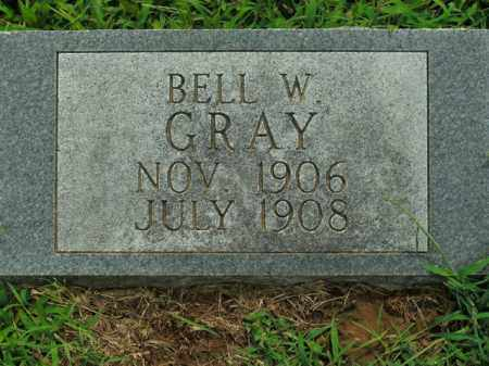 GRAY, BELL W. - Boone County, Arkansas | BELL W. GRAY - Arkansas Gravestone Photos