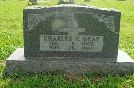 GRAY, CHARLES F. - Boone County, Arkansas | CHARLES F. GRAY - Arkansas Gravestone Photos