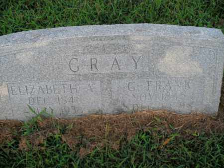 GRAY, G. FRANK - Boone County, Arkansas | G. FRANK GRAY - Arkansas Gravestone Photos