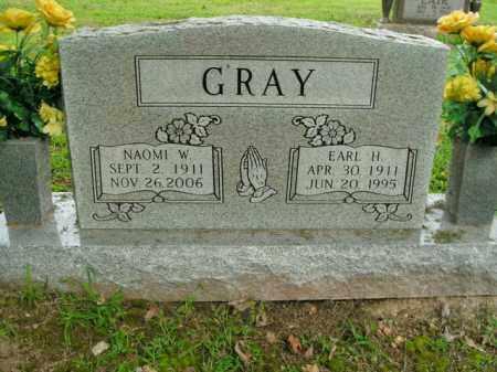 GRAY, EARL H. - Boone County, Arkansas | EARL H. GRAY - Arkansas Gravestone Photos