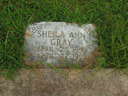 GRAY, SHEILA ANN - Boone County, Arkansas | SHEILA ANN GRAY - Arkansas Gravestone Photos