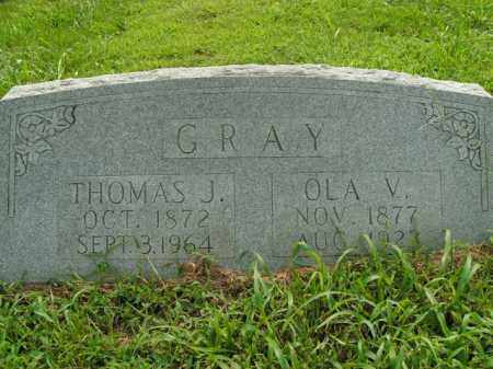 GRAY, THOMAS J. - Boone County, Arkansas | THOMAS J. GRAY - Arkansas Gravestone Photos