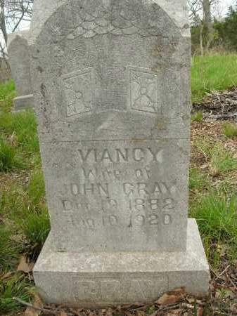 GRAY, VIANCY - Boone County, Arkansas | VIANCY GRAY - Arkansas Gravestone Photos