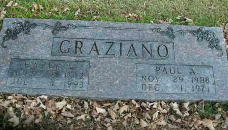 GRAZIANO, HAZEL V. - Boone County, Arkansas | HAZEL V. GRAZIANO - Arkansas Gravestone Photos