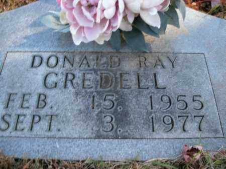 GREDELL, DONALD RAY - Boone County, Arkansas | DONALD RAY GREDELL - Arkansas Gravestone Photos