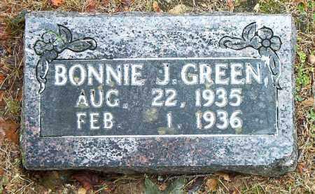 GREEN, BONNIE  J. - Boone County, Arkansas | BONNIE  J. GREEN - Arkansas Gravestone Photos