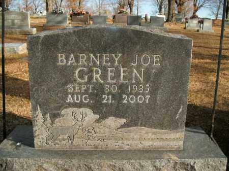 GREEN, BARNEY JOE - Boone County, Arkansas | BARNEY JOE GREEN - Arkansas Gravestone Photos