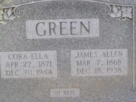 GREEN, CORA ELLA - Boone County, Arkansas | CORA ELLA GREEN - Arkansas Gravestone Photos