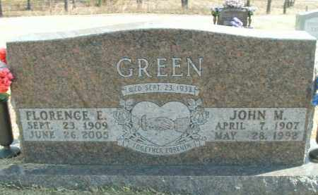 GREEN, JOHN M. - Boone County, Arkansas | JOHN M. GREEN - Arkansas Gravestone Photos