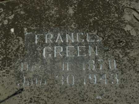 LANE GREEN, FRANCES - Boone County, Arkansas | FRANCES LANE GREEN - Arkansas Gravestone Photos