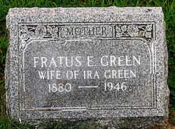 GREEN, FRATUS E. - Boone County, Arkansas | FRATUS E. GREEN - Arkansas Gravestone Photos