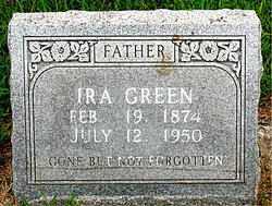 GREEN, IRA - Boone County, Arkansas | IRA GREEN - Arkansas Gravestone Photos