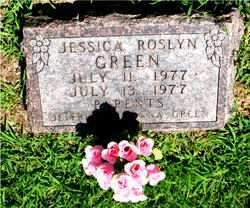 GREEN, JESSICA ROSLYN - Boone County, Arkansas | JESSICA ROSLYN GREEN - Arkansas Gravestone Photos