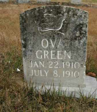 GREEN, OVA - Boone County, Arkansas | OVA GREEN - Arkansas Gravestone Photos