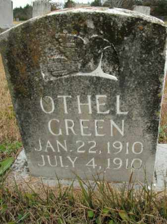 GREEN, OTHEL - Boone County, Arkansas | OTHEL GREEN - Arkansas Gravestone Photos