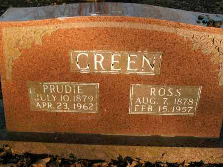 GREEN, PRUDIE - Boone County, Arkansas | PRUDIE GREEN - Arkansas Gravestone Photos