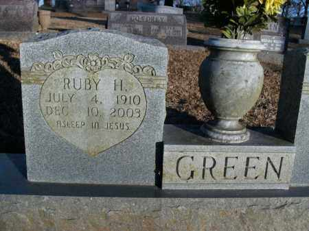 GREEN, RUBY HELEN - Boone County, Arkansas | RUBY HELEN GREEN - Arkansas Gravestone Photos