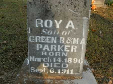 PARKER, ROY A. - Boone County, Arkansas | ROY A. PARKER - Arkansas Gravestone Photos