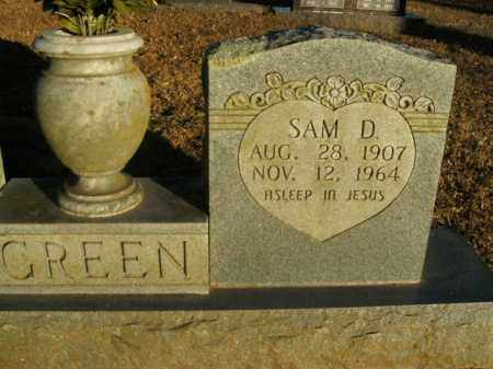 GREEN, SAM D. - Boone County, Arkansas | SAM D. GREEN - Arkansas Gravestone Photos