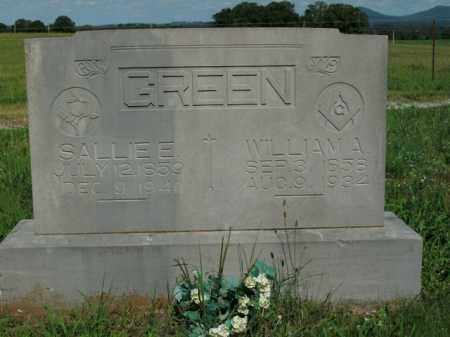 GREEN, WILLIAM A. - Boone County, Arkansas | WILLIAM A. GREEN - Arkansas Gravestone Photos