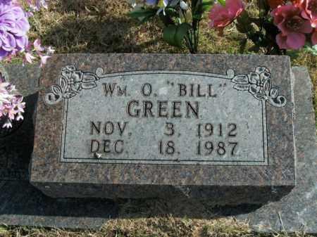 GREEN, WILLIAM O. - Boone County, Arkansas   WILLIAM O. GREEN - Arkansas Gravestone Photos