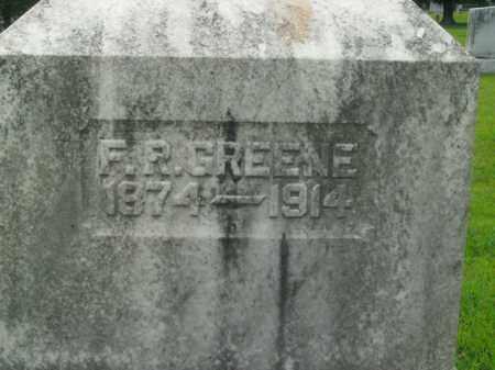 GREENE, F.R. - Boone County, Arkansas | F.R. GREENE - Arkansas Gravestone Photos