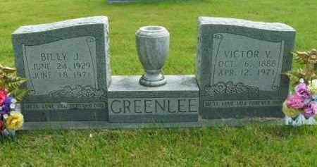 GREENLEE, BILLY J. - Boone County, Arkansas | BILLY J. GREENLEE - Arkansas Gravestone Photos