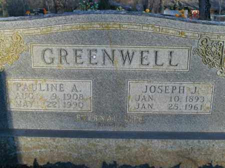 GREENWELL, PAULINE A. - Boone County, Arkansas | PAULINE A. GREENWELL - Arkansas Gravestone Photos