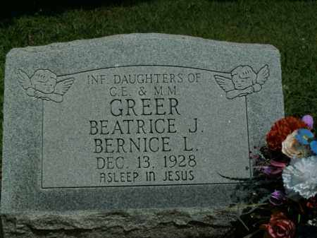 GREER, BERNICE L. - Boone County, Arkansas | BERNICE L. GREER - Arkansas Gravestone Photos