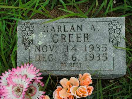 GREER, GARLAN A. - Boone County, Arkansas | GARLAN A. GREER - Arkansas Gravestone Photos