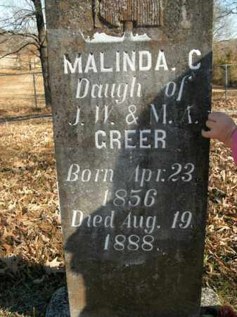 GREER, MALINDA C. - Boone County, Arkansas | MALINDA C. GREER - Arkansas Gravestone Photos