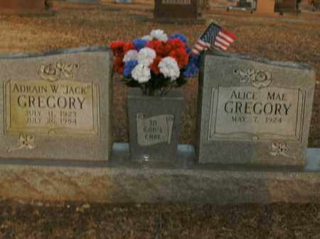 "GREGORY, ADRAIN W. ""JACK"" - Boone County, Arkansas 