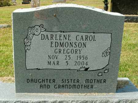 GREGORY, DARLENE CAROL - Boone County, Arkansas | DARLENE CAROL GREGORY - Arkansas Gravestone Photos