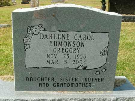 EDMONSON GREGORY, DARLENE CAROL - Boone County, Arkansas | DARLENE CAROL EDMONSON GREGORY - Arkansas Gravestone Photos