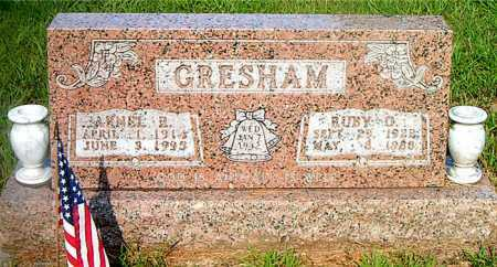 GRESHAM, RUBY O. - Boone County, Arkansas | RUBY O. GRESHAM - Arkansas Gravestone Photos