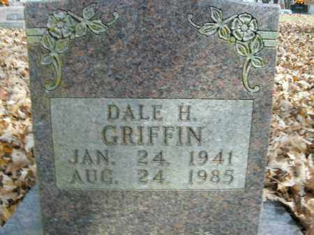 GRIFFIN, DALE H. - Boone County, Arkansas | DALE H. GRIFFIN - Arkansas Gravestone Photos