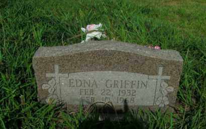 GRIFFIN, EDNA - Boone County, Arkansas | EDNA GRIFFIN - Arkansas Gravestone Photos