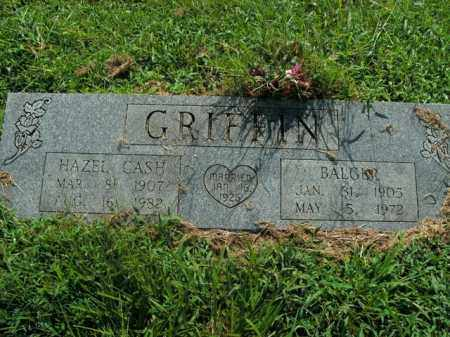 GRIFFIN, BALGER - Boone County, Arkansas | BALGER GRIFFIN - Arkansas Gravestone Photos