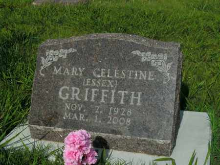 GRIFFITH, MARY CELESTINE - Boone County, Arkansas | MARY CELESTINE GRIFFITH - Arkansas Gravestone Photos